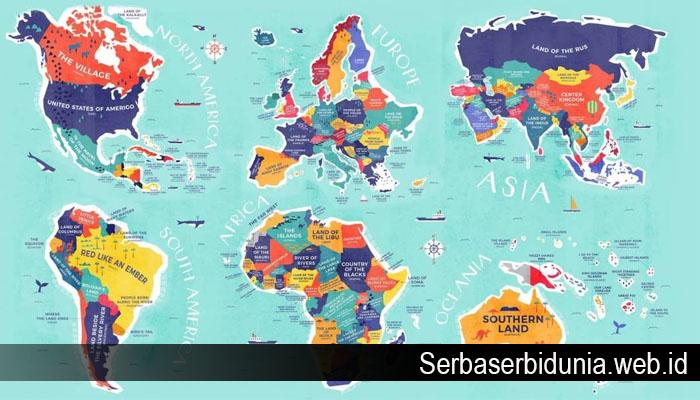 Asal usul Nama Negara Ini Paling Unik di Dunia