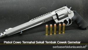 Pistol Cowo Termahal Sekali Tembak Cewek Gemetar